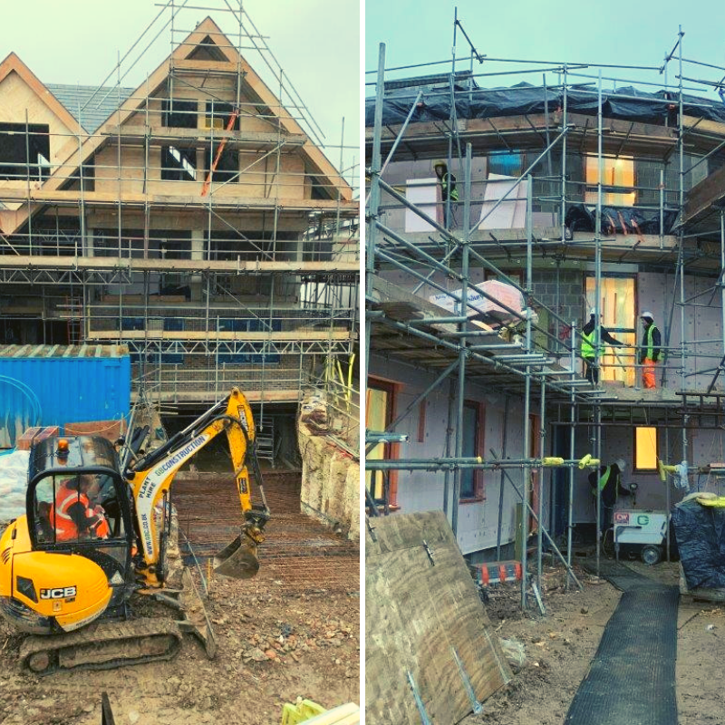 Progression of 152 High Road, Chigwell